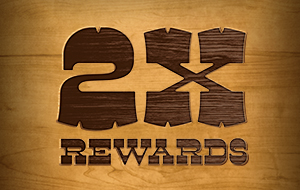2X Rewards Wednesdays