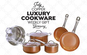 Copper Luxury Cookware Giveaway