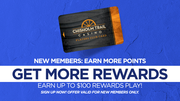 Get more rewards with a Players Club Card